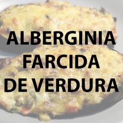 Alberginia farcida de verdura Pack