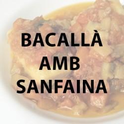 Bacallà samfaina pack