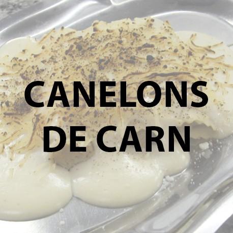 Canelons carn