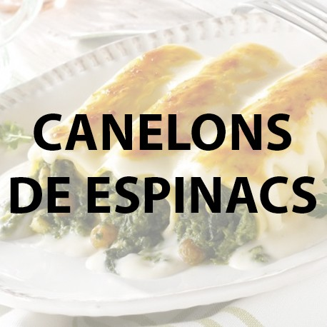 Canelons espinacs