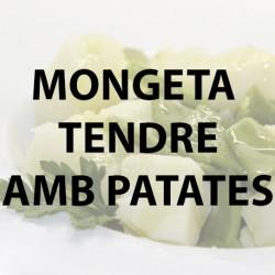 Mongeta tendre amb patates