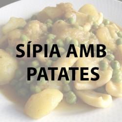 Sipia amb patates