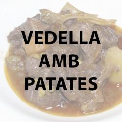 Vedella amb patates