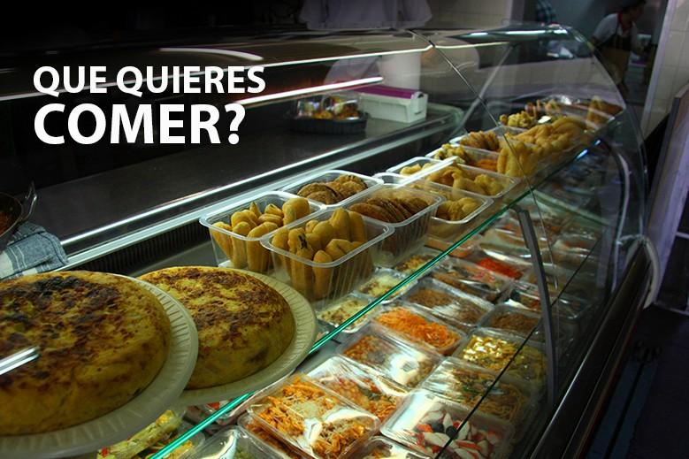 ¿Que quieres comer?