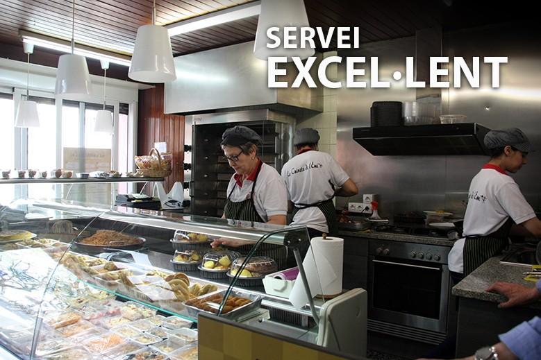 Servei excel·lent