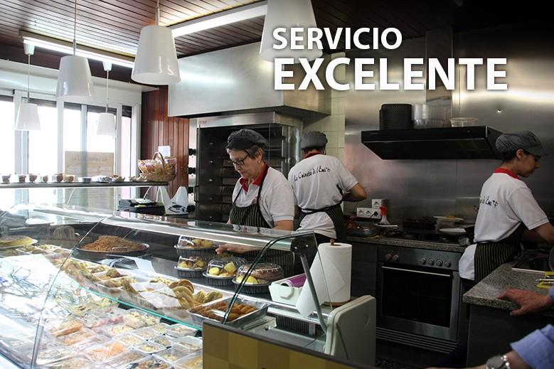 Servicio excel·lente